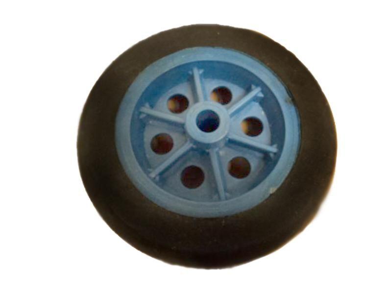 Roda Carrinho Bagagem Borracha Azul Kaori