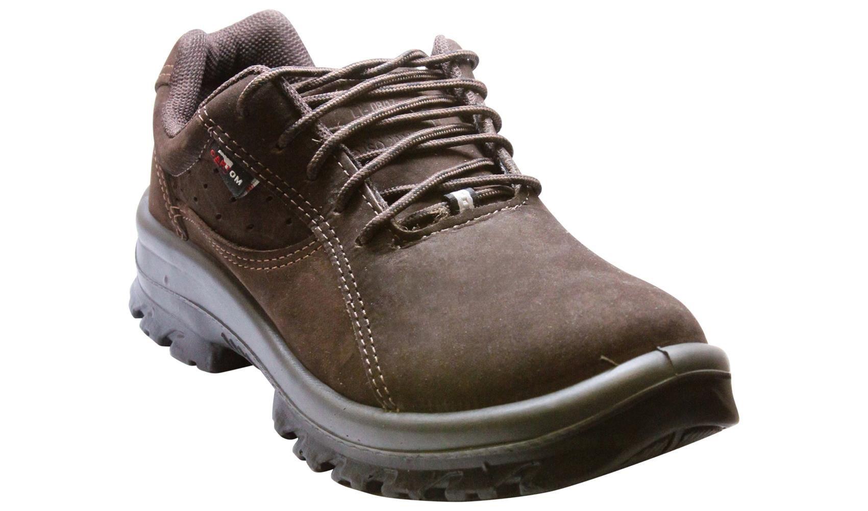 Sapato De Amarrar Top Tipo Nobuck Café Cartom Tp053