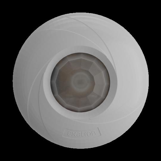 Sensor de Presença Teto (360° - Sobrepor ou Embutir)Exatron