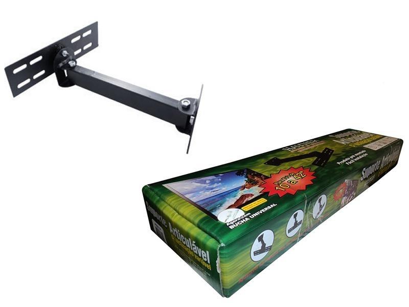 Suporte TV LCD Articulado Preto Hayner