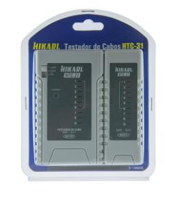 Testador Continuidade Rj45/rj11 Htc-31 Hikari