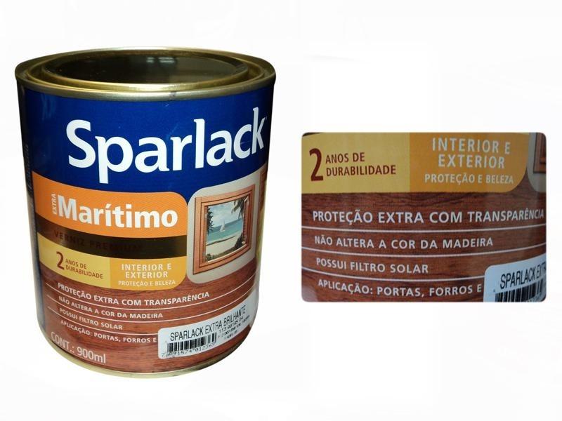 Verniz Marítimo, Proteção Extra, 1/16 - SPARLACK