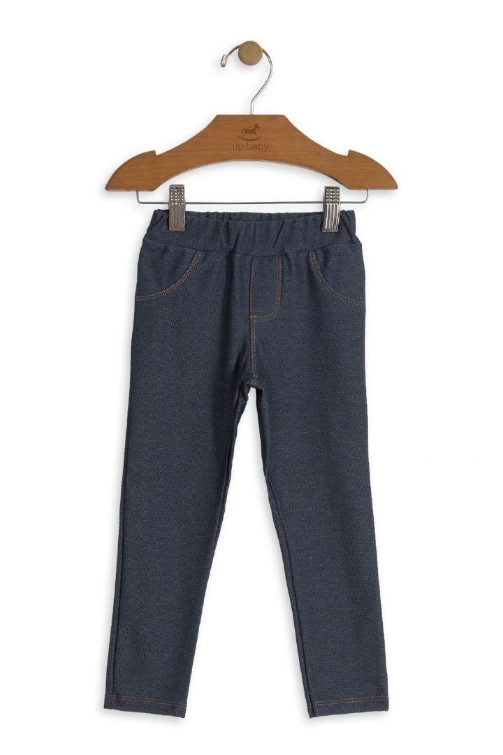 Calça em Malha Jeans - Up Baby