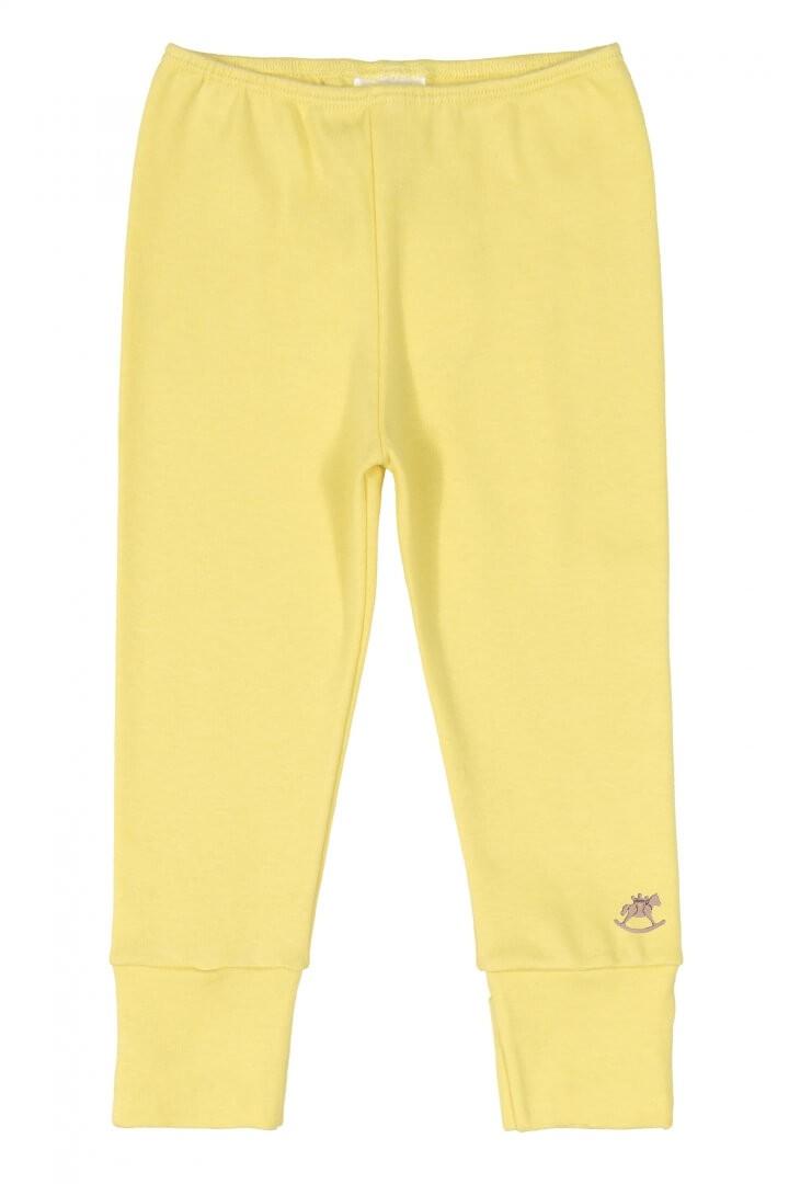 Calça em Suedine Amarelo - Up Baby