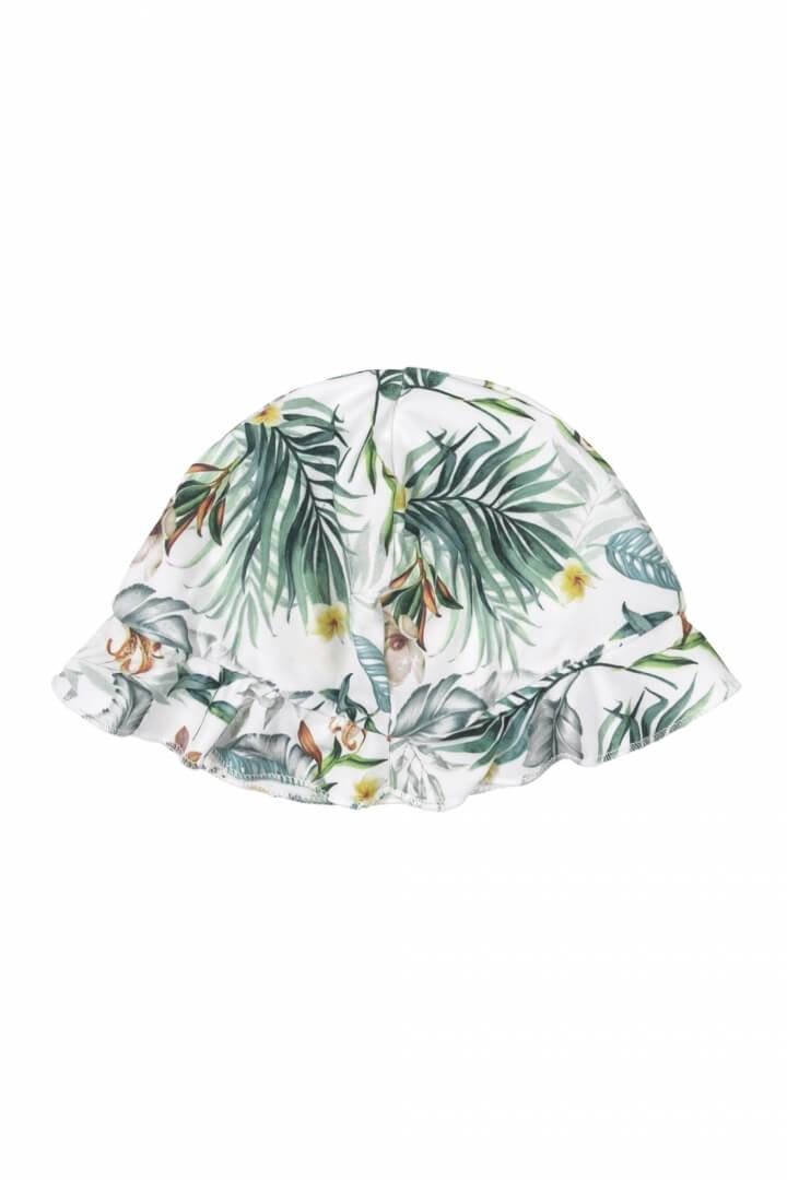 Chapéu em Malha Poliéster com Proteção UV Folhagem - Up Baby