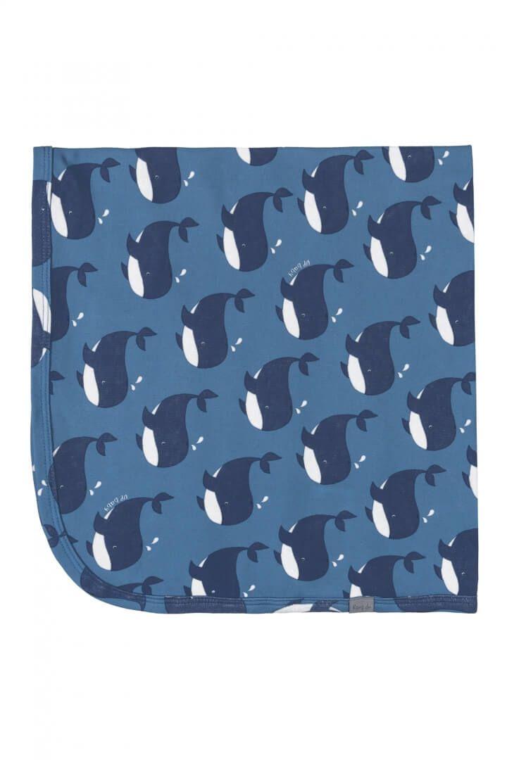 Manta em Suedine Baleia Azul - Up Baby