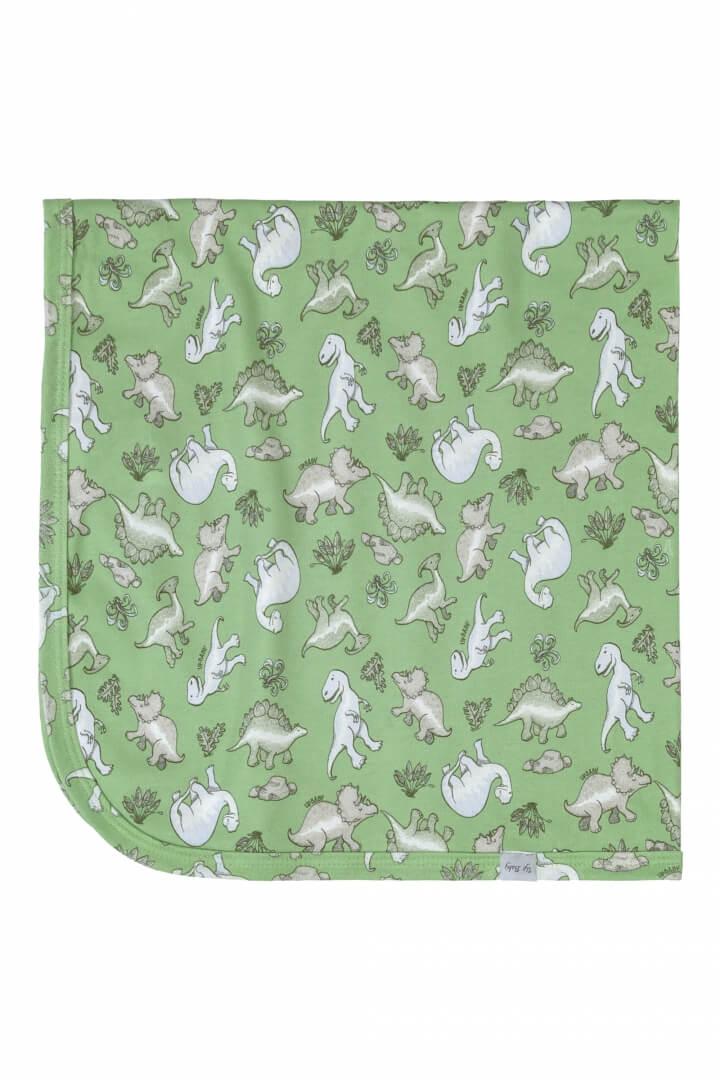 Manta em Suedine Dinossauro (Verde) - Up Baby