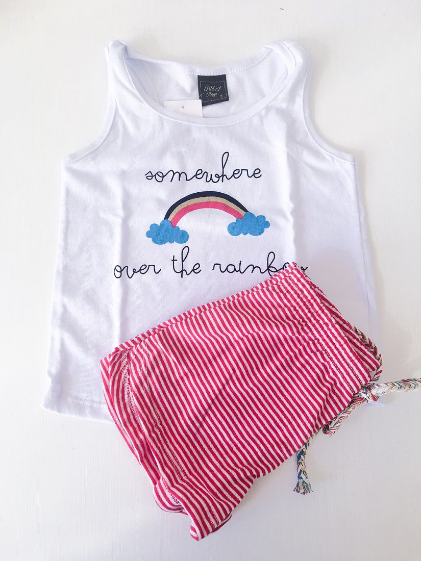 Pijama Regata Meia Malha Feminino - Andrimalhas