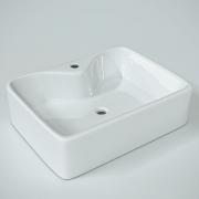 Cuba de apoio para banheiro Lapa + válvula click