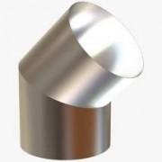 Curva curta Liv 150mm (45°) para Calefator
