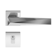 Fechadura Externa Pado Ascot Cromado 55mm