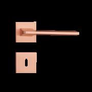 Fechadura Interna Pado Sara Roseta Quadrada Rose 55mm
