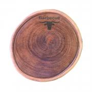 Kit churrasco gourmet line 81pp - Churrasqueira + Garra + tábua personalizada
