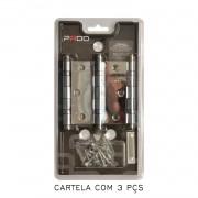 Kit Com 10 Cartelas De Dobradiça Pado Com Rolamento 3025/cr