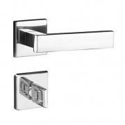Kit Fechadura Retro cr: 3 Banheiro 5 Externa