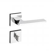 Kit Fechadura Sara CR: 2 Quarto e 2 Banheiro