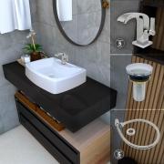 Kit Roma Square Click (cromado)