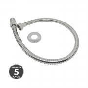 Ligação flexível de metal 60cm para agua quente e fria