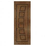 Porta de madeira maciça almofadada modelo pm - 190 Angelim