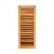 Porta de madeira maciça esplendore 80x210