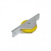 Roldana napoleão com rolamento blindado (PAR) - 100kg p/ folha FERMAX