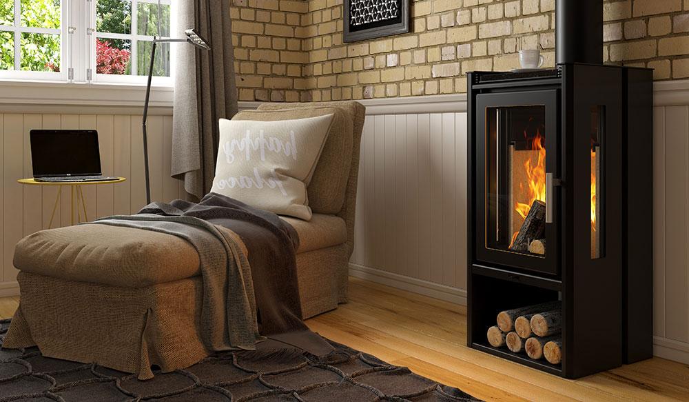 Calefator de Dupla Combustão Elegance Grande