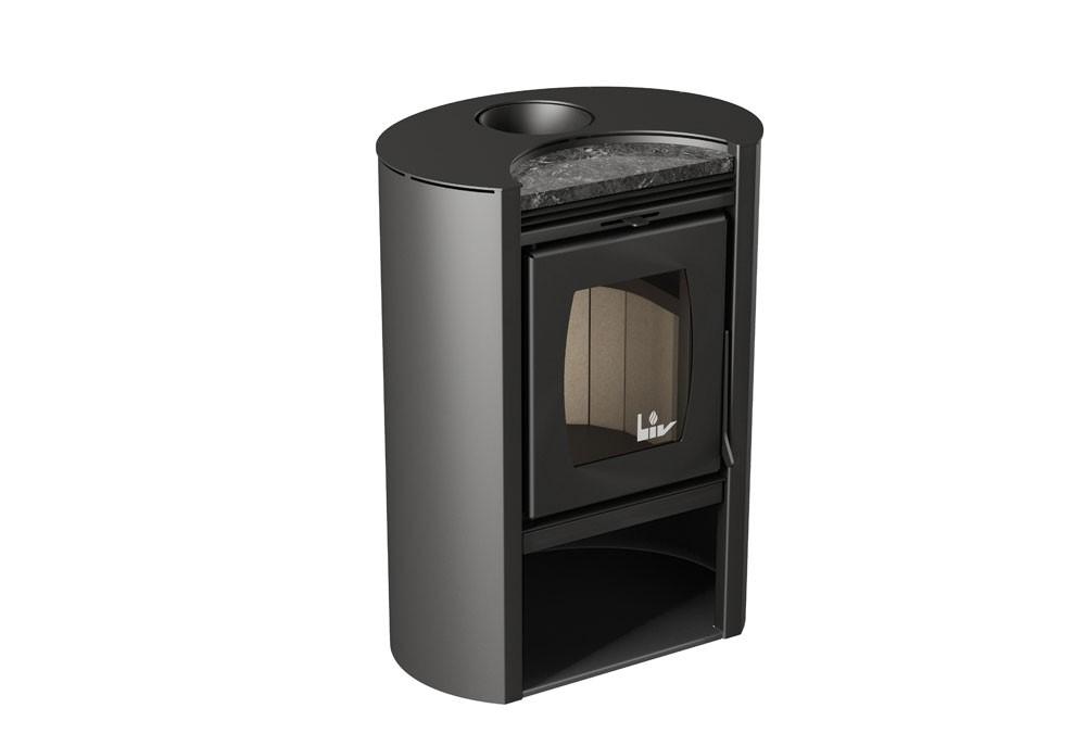 Calefator de Dupla Combustão Elíptico Pequeno