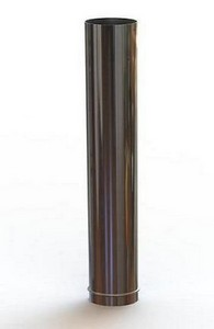 Cano Liv de 1m com Bitola 110mm para Calefator