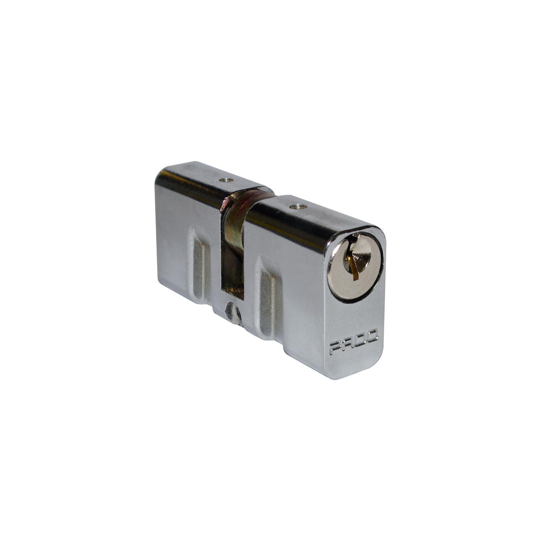 Cilindro Pado Tradicional Para Fechadura 55mm Cromado
