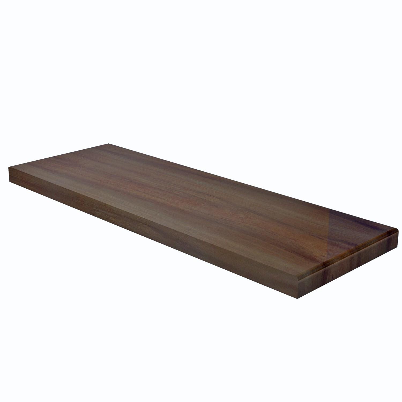 Degraus de madeira para escada em cumaru com 4X30cm