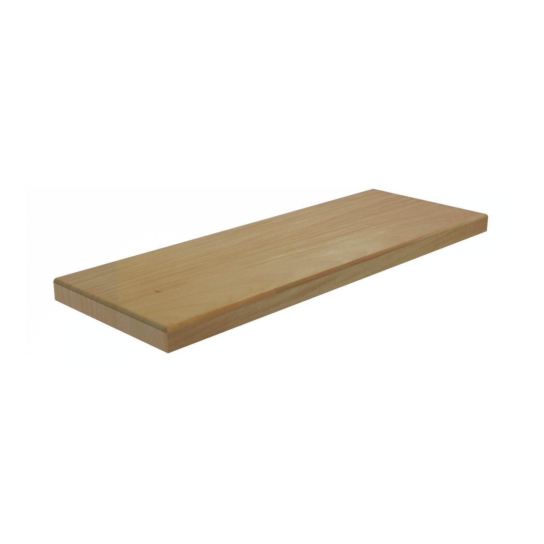 Degraus de madeira para escada em Garapeira com 4,5X30cm