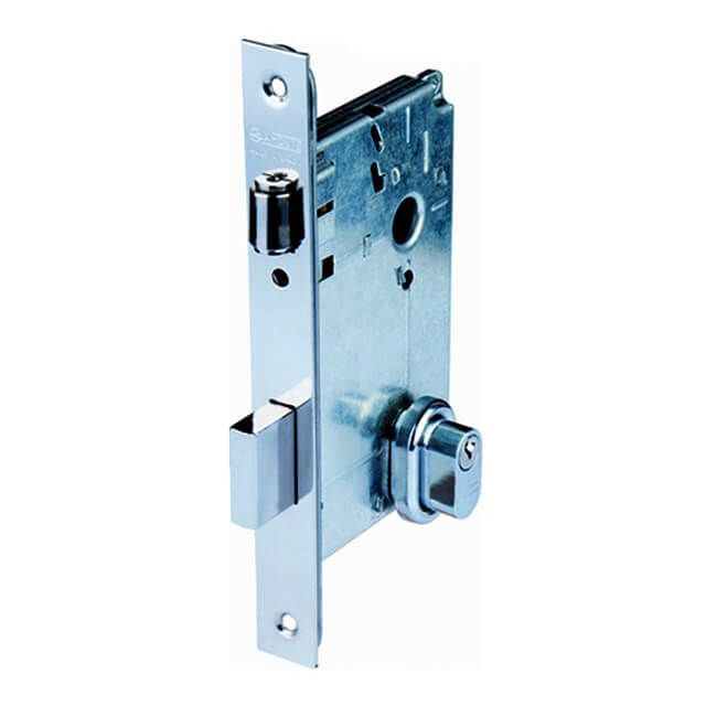 Fechadura LA FONTE Rolete para Porta Pivotante com Cilindro de 12 cm