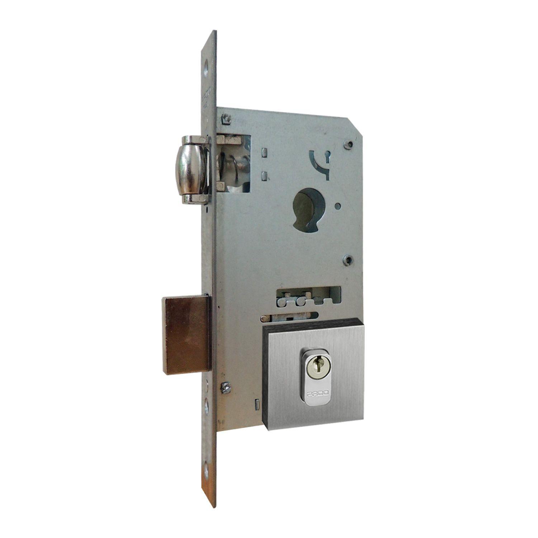 Fechadura Pado Rolete Para Porta Pivotante Com Cilindro de 9 cm CRA