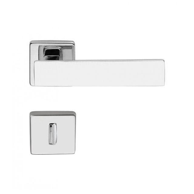 Kit fechadura imab metro light 04 externa 02 banheiro