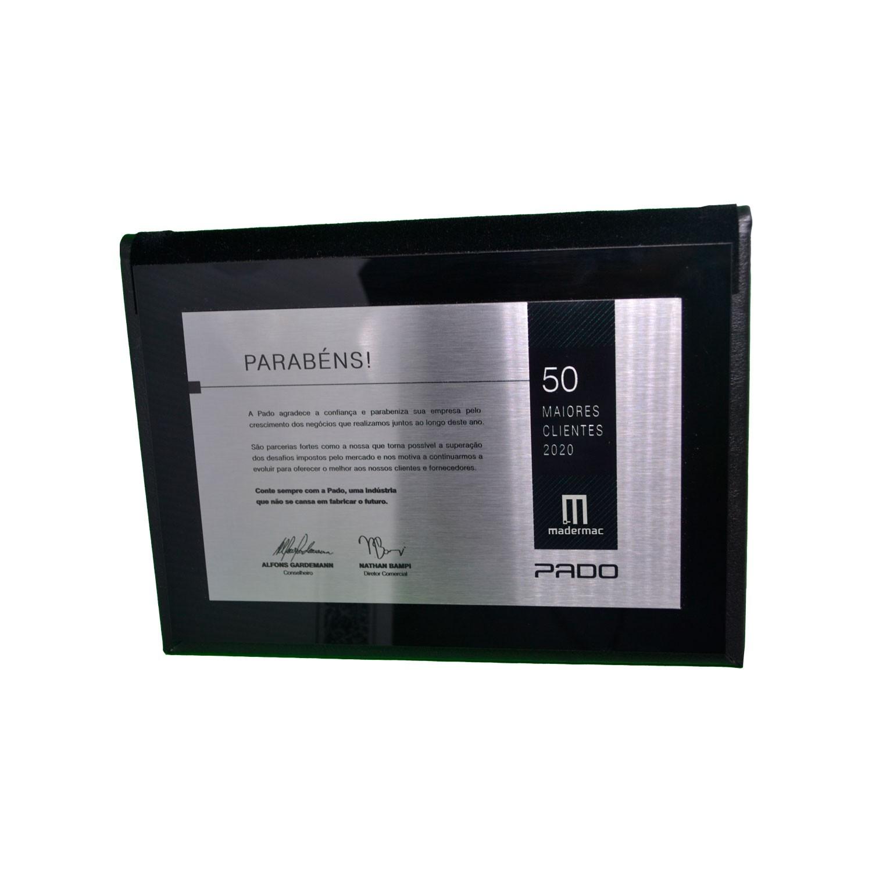 Kit fechadura pado magnum escovada 04WC 05INT 09 3025 cra