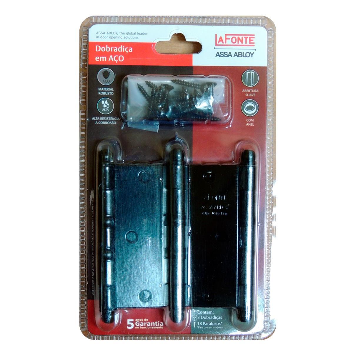 Kit fechadura pado magnum preta 06EXT 02WC 083025PF