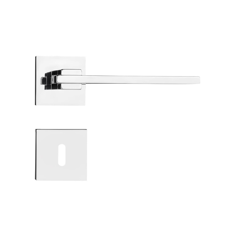 Kit Fechadura Pado Nina CR 55mm: 2 Banheiro, 5 Internas e 2 Externa.
