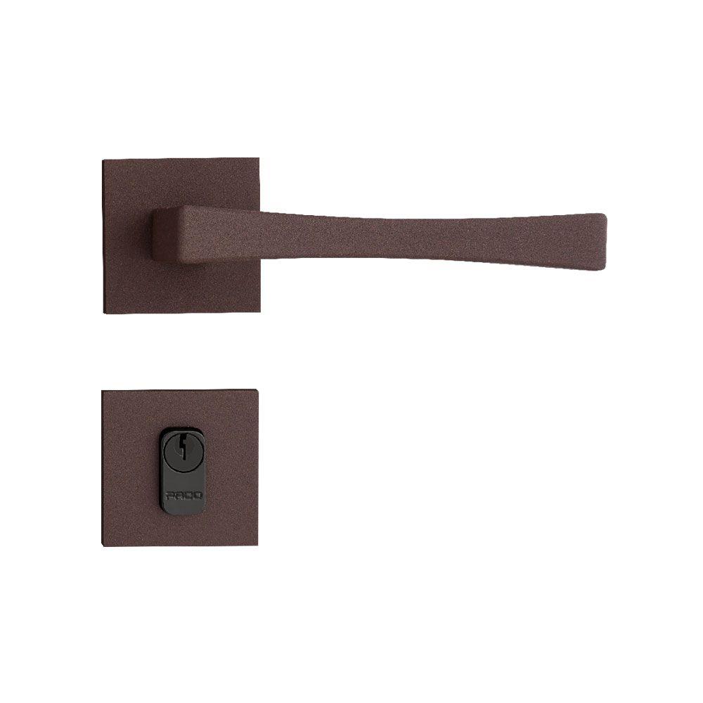Kit Fechadura pado Vivaldi Corten 04 quarto 03 banheiro