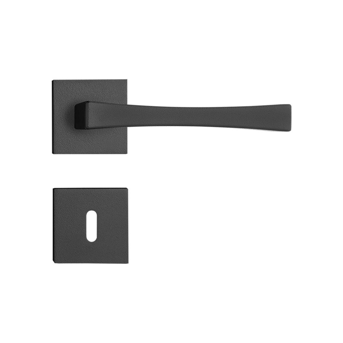 Kit fechadura vivaldi preta 03E 04I 03-3530 07-3025 PF