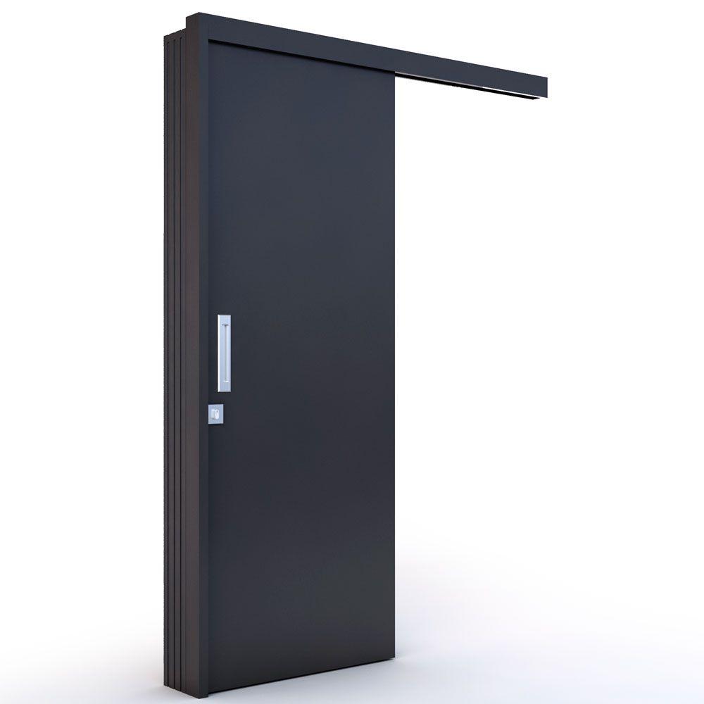 Kit Porta Lisa de Correr Laca Preta