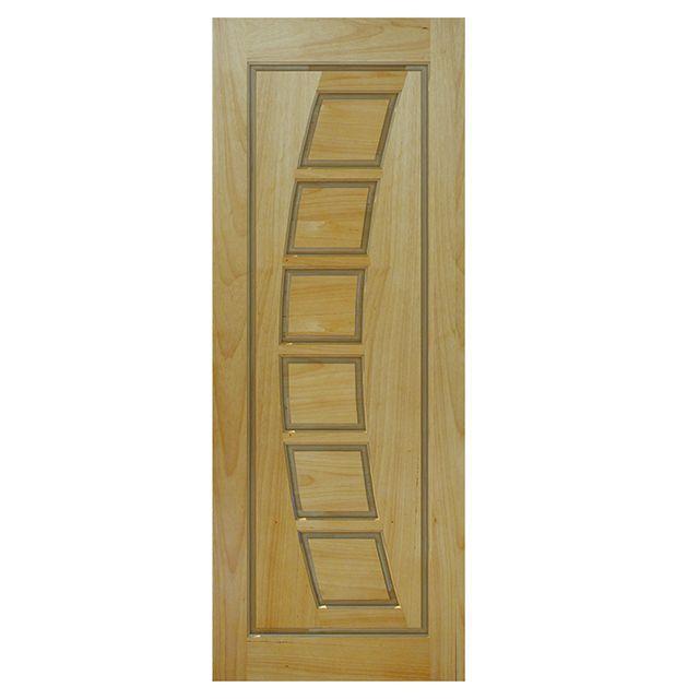 Porta de madeira maciça almofadada modelo pm - 190 Tauari