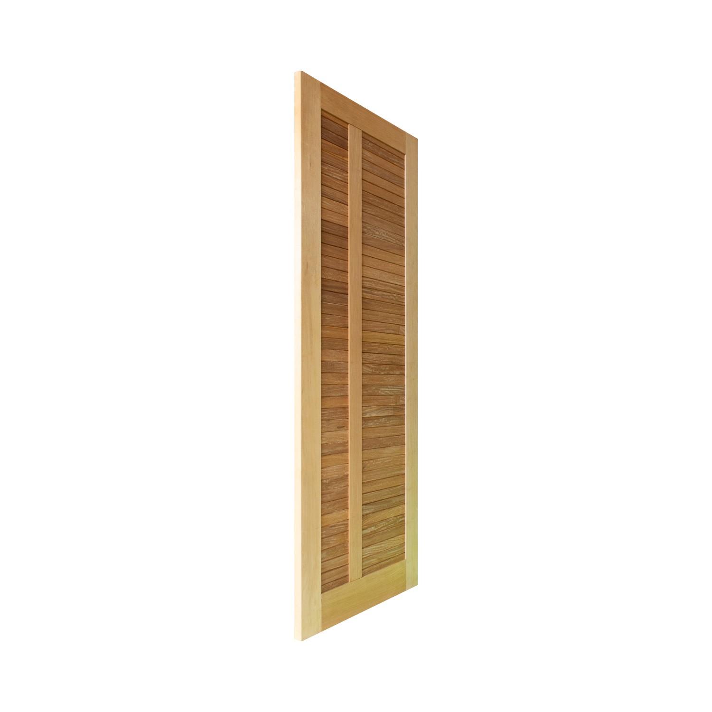 Porta de madeira maciça  pm base 02 509 - 80x210cm