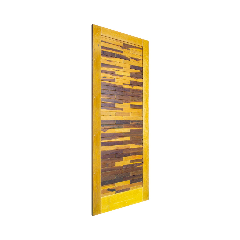 Porta de madeira maciça pm base 515 - 80x210cm