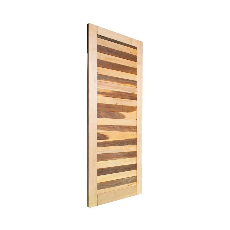 Porta de madeira maciça pm base 518 - 80x210cm
