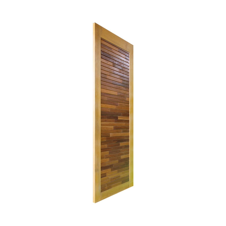 Porta de madeira maciça pm base 510 - 80x210cm