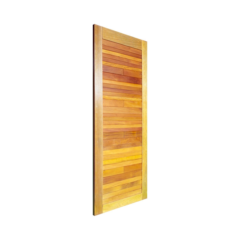 Porta de madeira maciça pm base 521 - 80x210cm