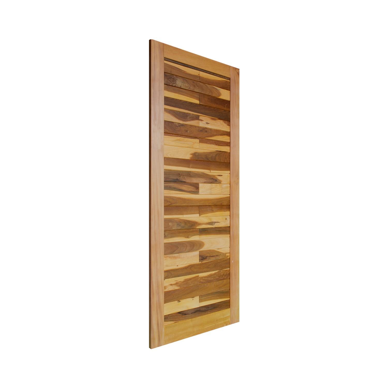 Porta de madeira maciça pm base 524 - 80x210cm