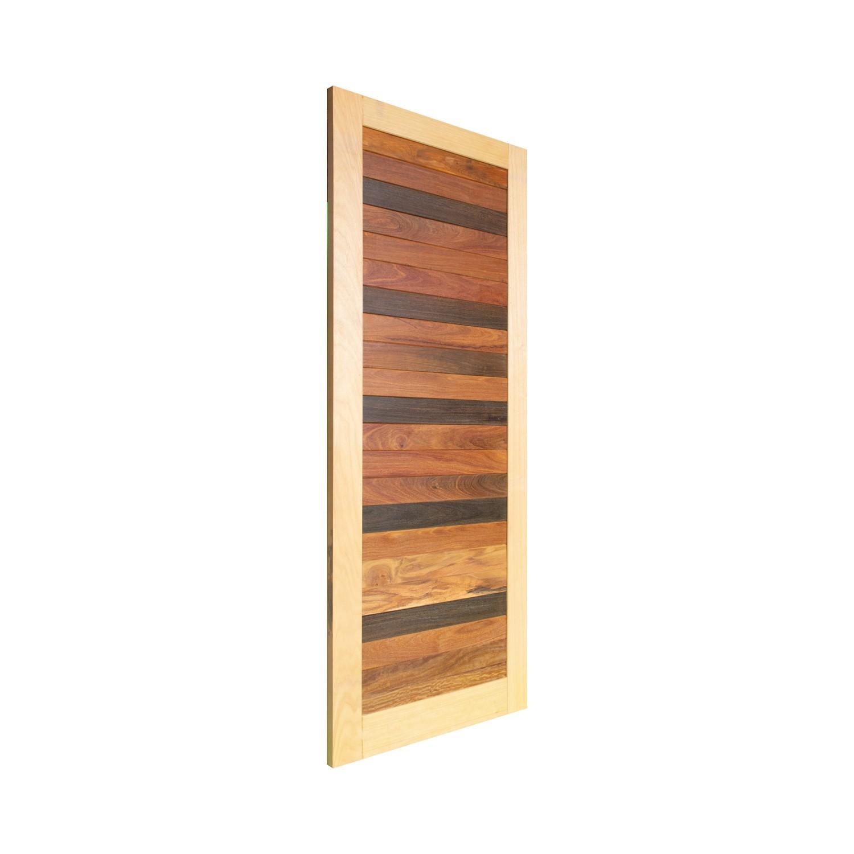 Porta de madeira maciça pm base 525 - 80x210cm