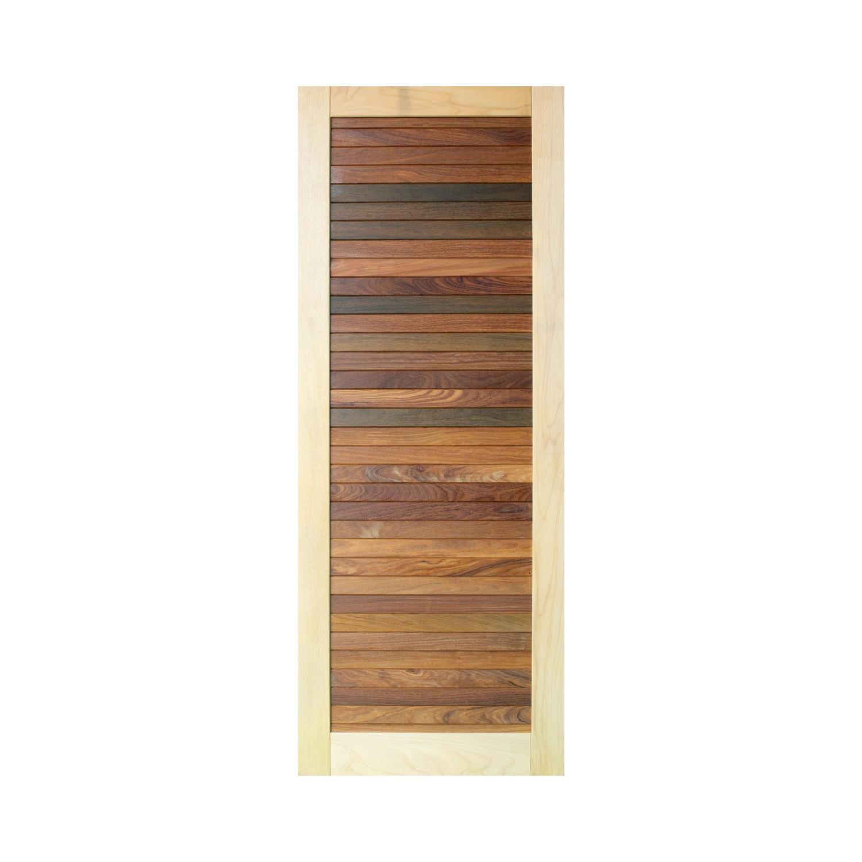 Porta de madeira maciça pm base 530 - 80x210cm