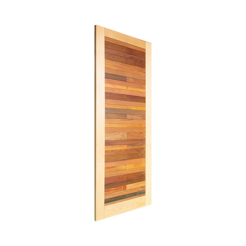 Porta de madeira maciça pm base 531 - 80x210cm